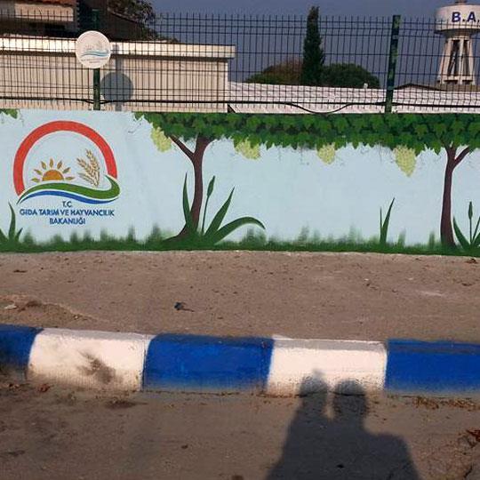 Yaşam Alanları İçin Duvar Resmi Boyama